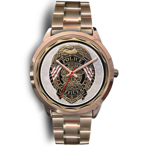 Police Officer St Michael Patron Saint of Law Enforcement Challenge Coin Watch