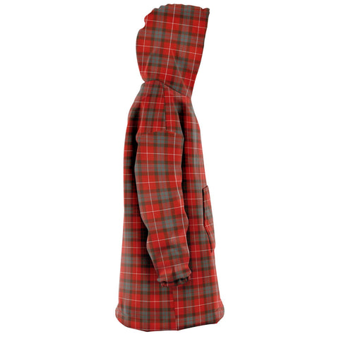 Fraser Weathered Snug Hoodie - Unisex Tartan Plaid Right