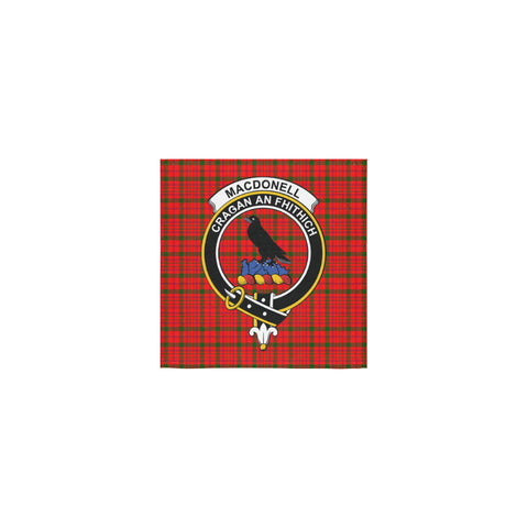 Image of MacDonnell of Keppoch Modern Tartan Towel Clan Badge | 1sttheworld.com
