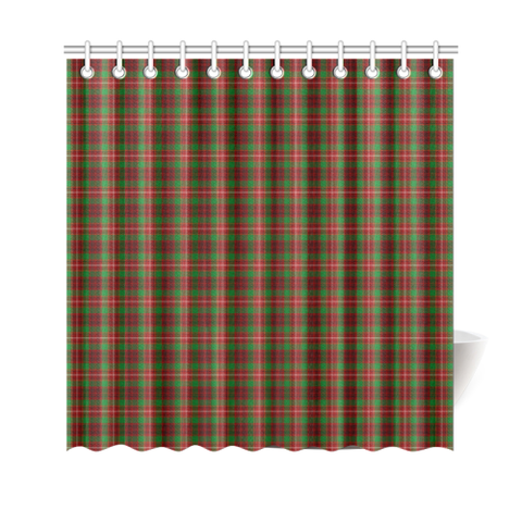 Image of Tartan Shower Curtain - Ainslie |Bathroom Products | Over 500 Tartans