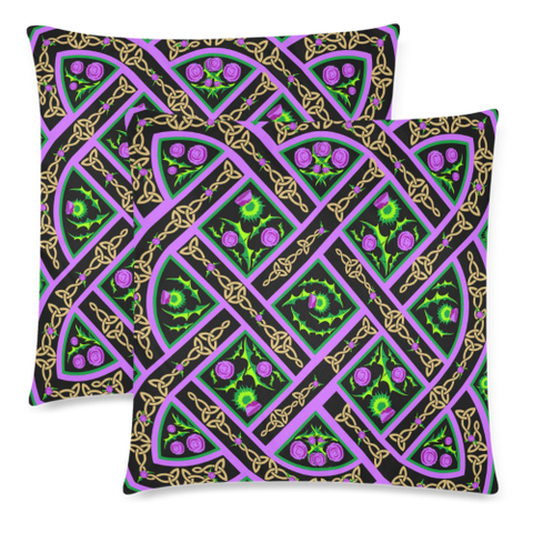 Thistle 23 Zippered Pillow Cases A1