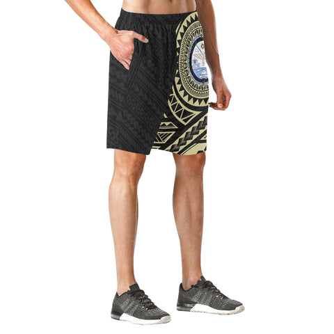 Marshall Islands Polynesian Tattoo Beach Short | Hot Polynesian