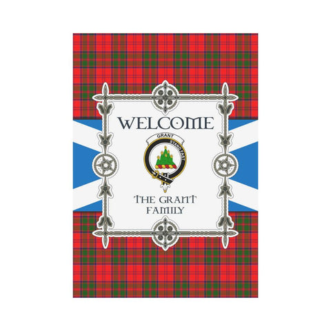 Grant Tartan Garden Flag - New Version K7 |Home Decor| 1sttheworld