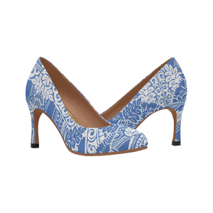 Hawaii Pattern High Heels H1
