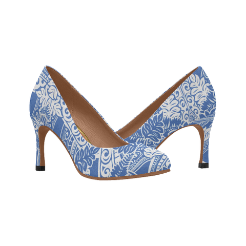 Image of Hawaii Pattern High Heels H1