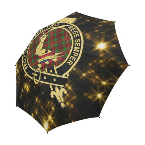 Ainslie Tartan Umbrella Golden Star