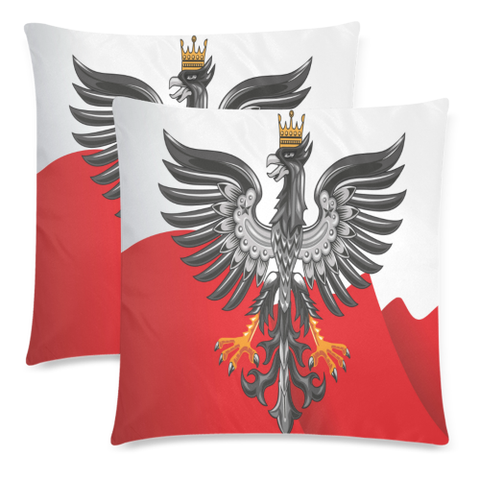 Poland Coat Of Arm Zippered Pillow Cover H0 | 1sttheworld.com