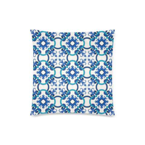 Azulejos Pilow Cover | Online shopping custom Portuguese tiles pillow cases