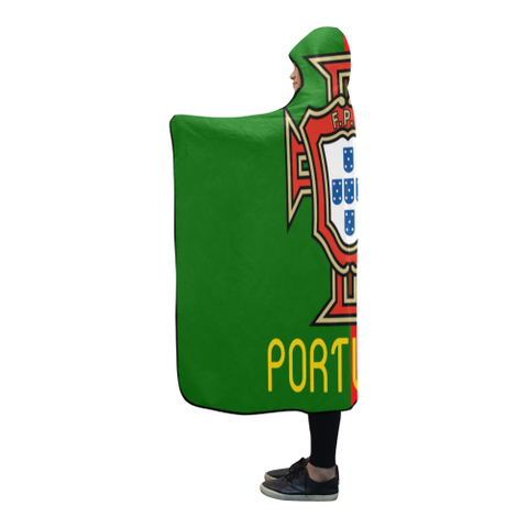 Portugal World Cup Hooded Blanket - BN04