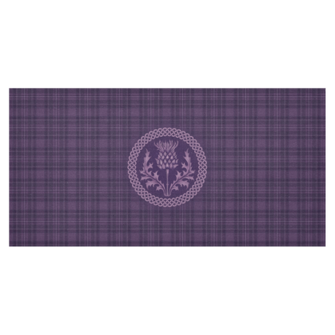 Image of Scotland Tablecloth - Purple Thistle | Hot Sale