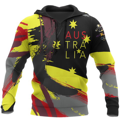 Love Australia x RTXtreme - Athletic Style Ver 2 Pullover Hoodie A0