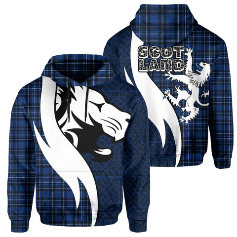 Image of Scotland Hoodie - Scottish Lion | Clothing | 1sttheworld