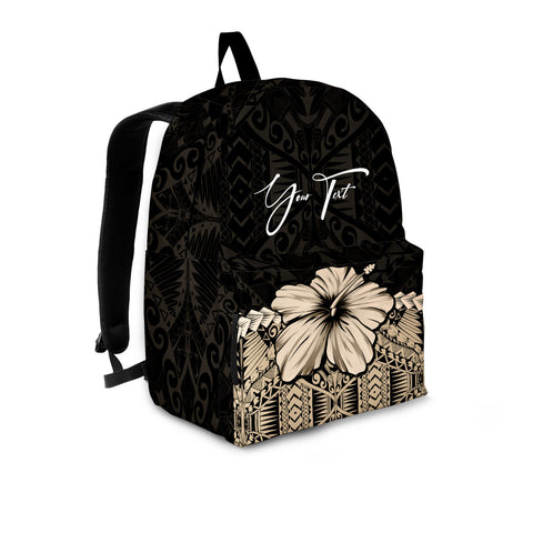 (Custom) Polynesian Backpack Hibiscus Personal Signature A02