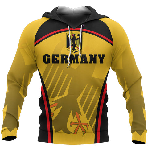 Image of Germany Coat Of Arms Hoodie - Sport Style - J2