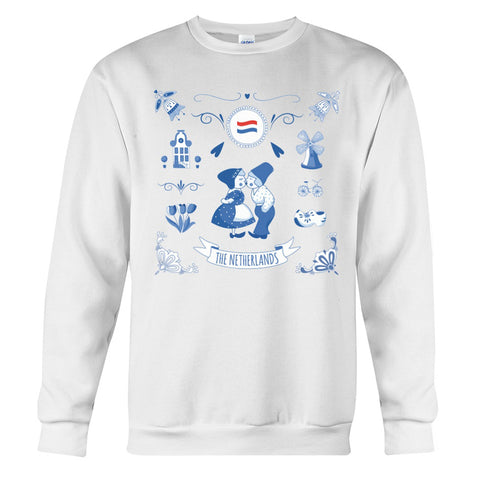 Image of THE NETHERLANDS Symbols Sweatshirt | Men and Women | Love The World