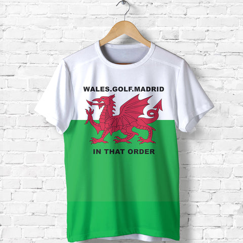 Wale Golf Madrid T Shirt K2