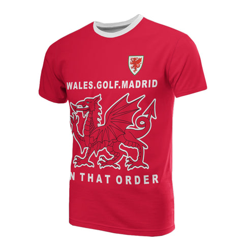 Image of Wales The Winner T-shirt
