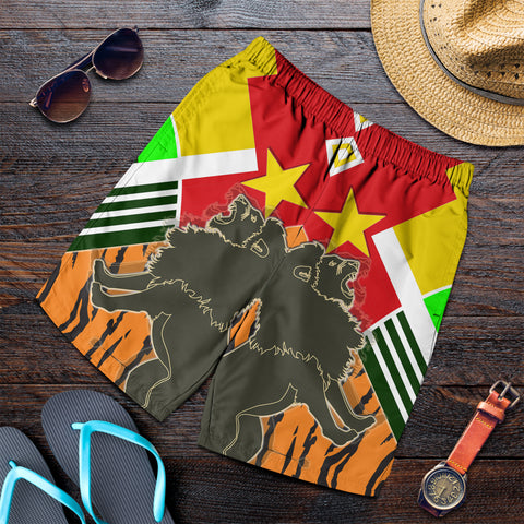 Image of 1sttheworld Tigray Men's Shorts - Tigray Pride - BN21