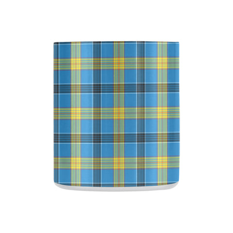 Tartan Mug - Clan Laing Tartan Insulated Mug A9 | Love The World