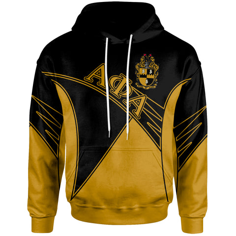 African Alpha Phi Alpha Zip Hoodie - Spirit Version