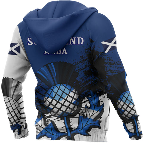 Image of Falconer Crest Scottish Thistle Scotland Hoodie | Over 300 Clans