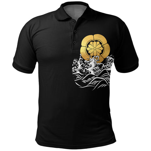The Golden Koi Fish Polo Shirt A7