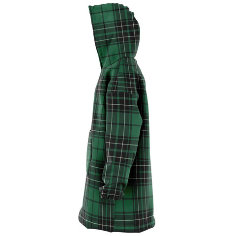MacLean Hunting Ancient Snug Hoodie - Unisex Tartan Plaid Left