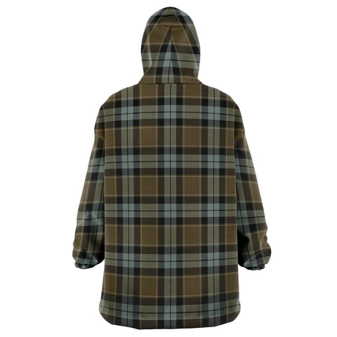 Graham of Menteith Weathered Snug Hoodie - Unisex Tartan Plaid Back