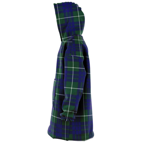 Image of Hamilton Hunting Modern Snug Hoodie - Unisex Tartan Plaid Left