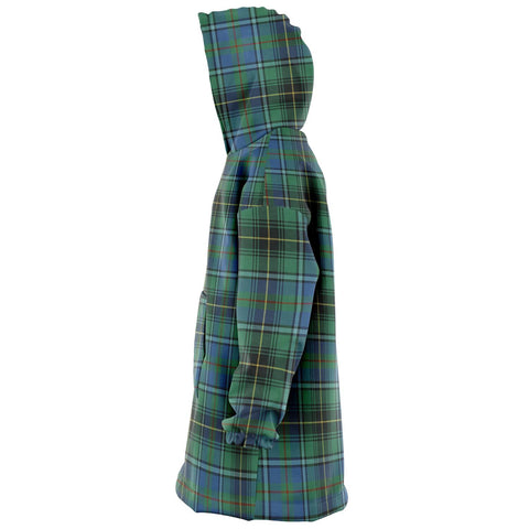 MacInnes Ancient Snug Hoodie - Unisex Tartan Plaid Left