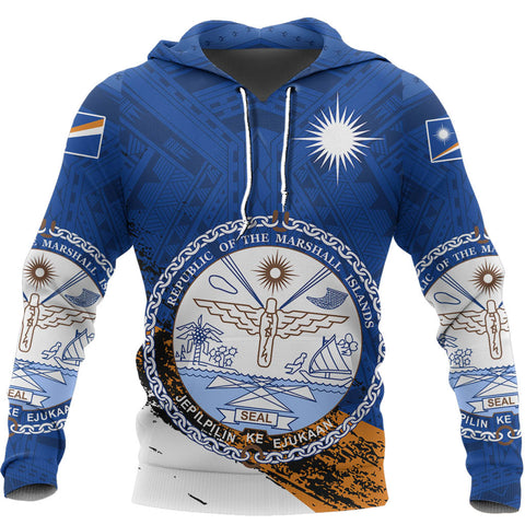 Image of Marshall Islands Micronesia Special Hoodie A7