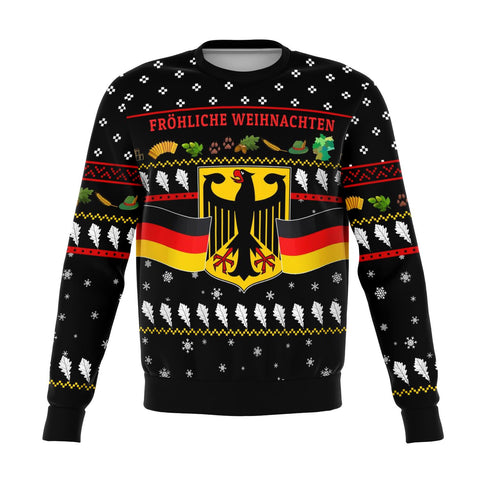Germany Christmas Sweatshirt Coat Of Arms TH5
