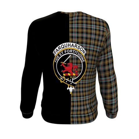 Image of Farquharson Weathered Tartan Sweatshirt - Half Style TH8