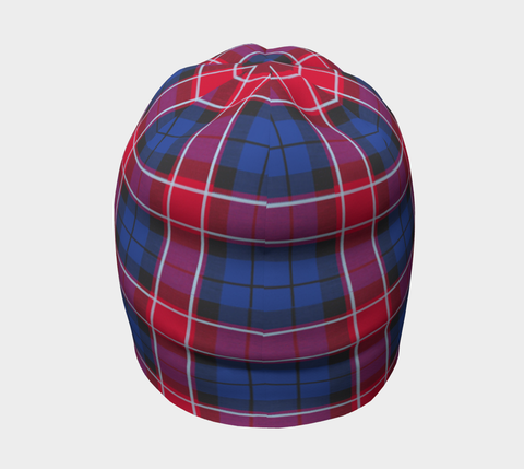 Image of Graham of Menteith Red Tartan Clan Crest Beanie Hj4