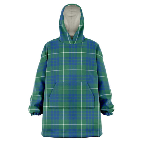 Image of Hamilton Hunting Ancient Snug Hoodie - Unisex Tartan Plaid Front