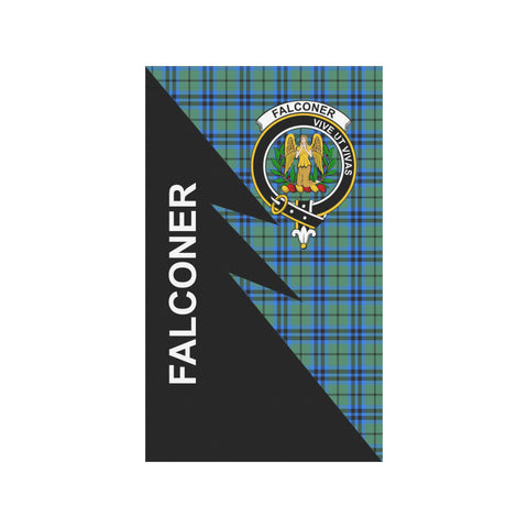 "Image of Falconer Tartan Garden Flag - Flash Style 36"" x 60"""