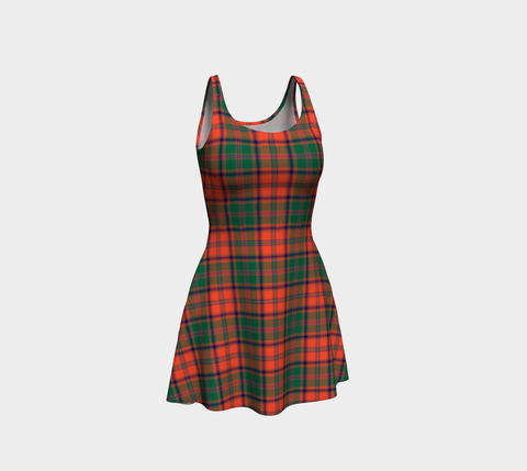 Tartan Flare Dress - Stewart Of Appin Ancient A9 |Clothing| 1sttheworld