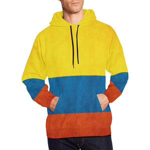 COLOMBIA FLAG  ALL OVER PRINT HOODIE A1