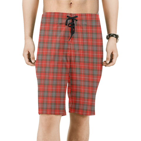 Fraser Weathered Tartan Board Shorts | 1sttheworld.com