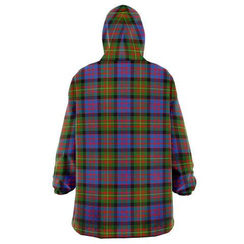 Carnegie Ancient Snug Hoodie - Unisex Tartan Plaid Back