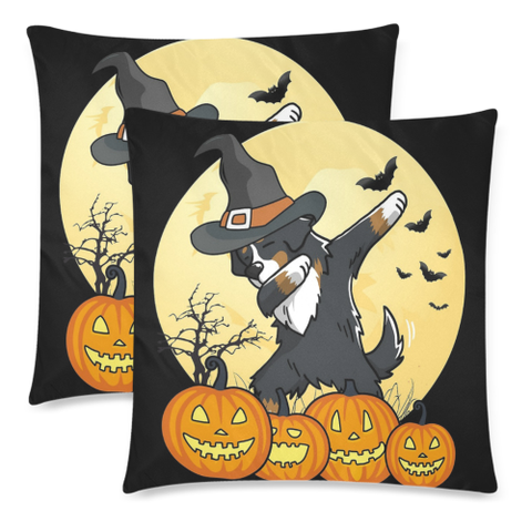 Swiss Bernese Mountain Dab Dance Halloween Pillow Covers K5