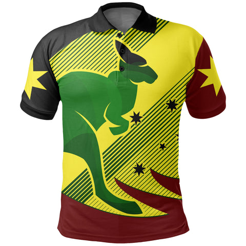 Australia Kangaroo Spirit Polo Shirt | Clothing