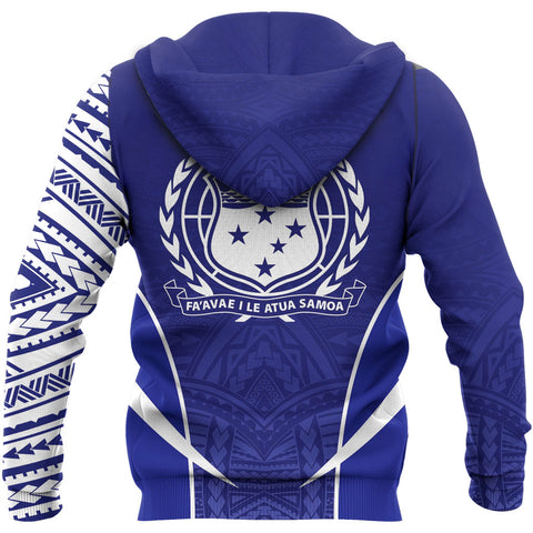 Image of Samoa Active Special Zipper Hoodie A7