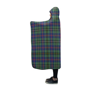 Wood Tartan Hooded Blanket - BN