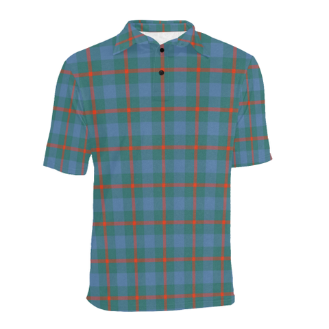 Agnew Ancient Tartan Polo Shirt HJ4