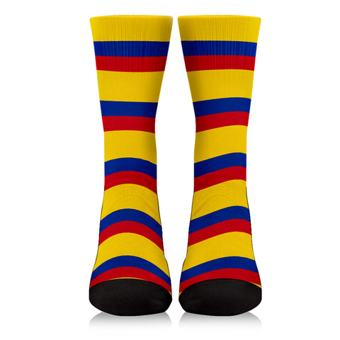 Image of Colombia Flag Crew Socks K4