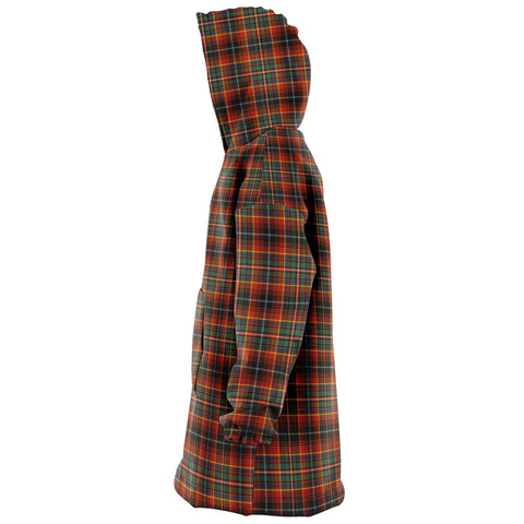 Innes Ancient Snug Hoodie - Unisex Tartan Plaid Left