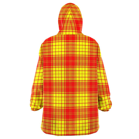 MacMillan Clan Snug Hoodie - Unisex Tartan Plaid Back