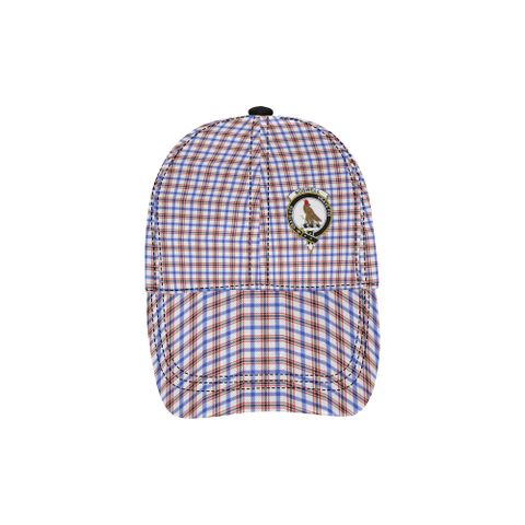 Image of Boswell Modern Clan Badge Tartan Dad Cap - BN03