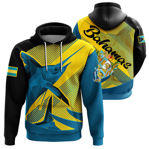 Image of The Bahamas Hoodie - Blue Marlin Pullover J0